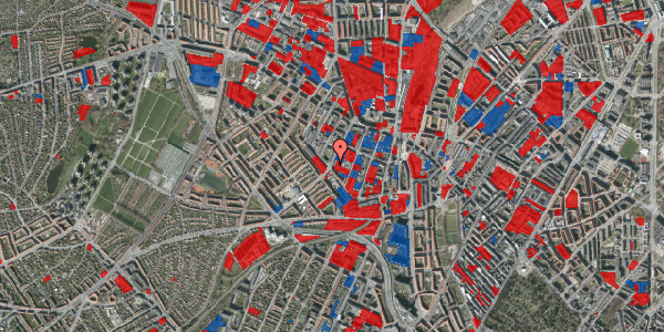 Jordforureningskort på Vibevej 35, 4. th, 2400 København NV