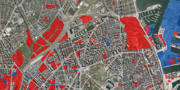 Jordforureningskort på Victor Bendix Gade 6, 2. tv, 2100 København Ø