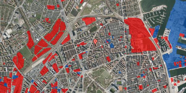 Jordforureningskort på Victor Bendix Gade 8, 1. th, 2100 København Ø