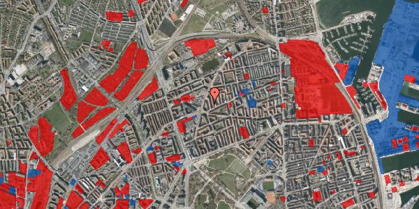 Jordforureningskort på Victor Bendix Gade 8, 2. tv, 2100 København Ø