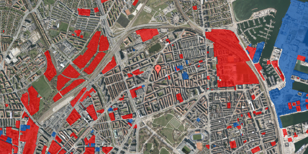 Jordforureningskort på Victor Bendix Gade 8, 4. tv, 2100 København Ø