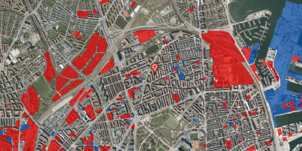 Jordforureningskort på Victor Bendix Gade 12, 3. th, 2100 København Ø