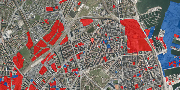 Jordforureningskort på Victor Bendix Gade 14, 4. tv, 2100 København Ø