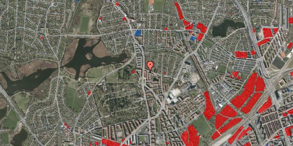 Jordforureningskort på Vilhelm Birkedals Vej 4, st. tv, 2400 København NV
