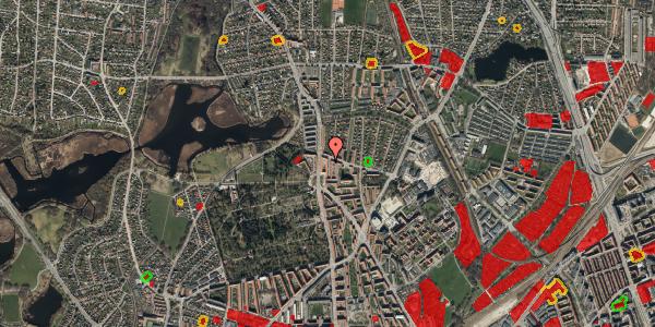 Jordforureningskort på Vilhelm Birkedals Vej 6, 1. , 2400 København NV