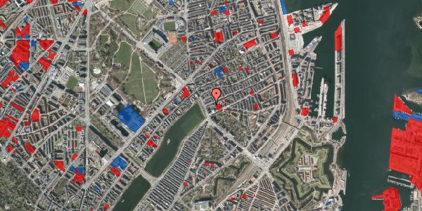 Jordforureningskort på Willemoesgade 6, 1. tv, 2100 København Ø
