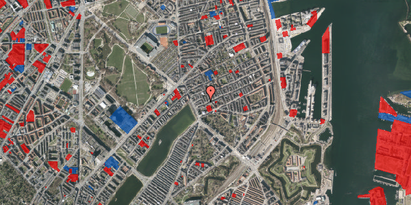 Jordforureningskort på Willemoesgade 9, kl. , 2100 København Ø
