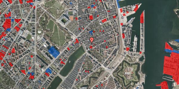 Jordforureningskort på Willemoesgade 9, 4. tv, 2100 København Ø