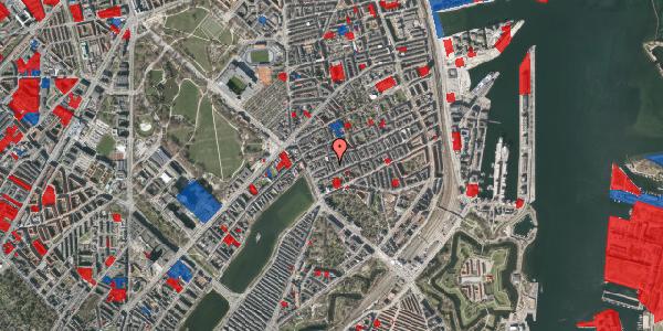 Jordforureningskort på Willemoesgade 15, 3. th, 2100 København Ø