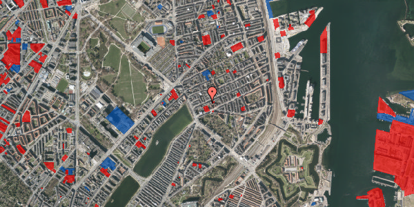 Jordforureningskort på Willemoesgade 16, 2. tv, 2100 København Ø