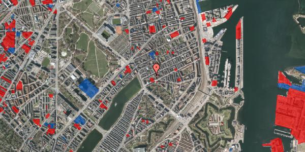 Jordforureningskort på Willemoesgade 16, 3. th, 2100 København Ø