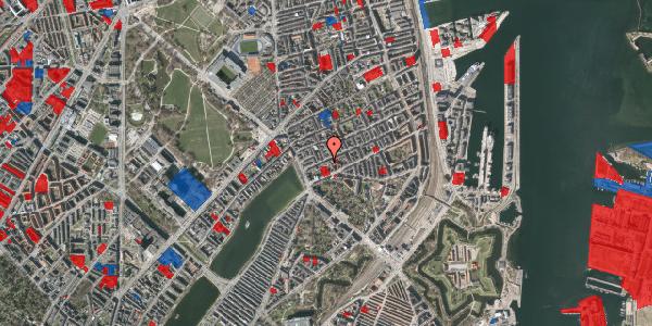 Jordforureningskort på Willemoesgade 16, 5. tv, 2100 København Ø