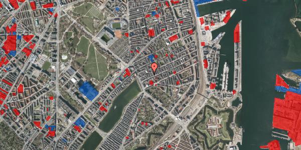 Jordforureningskort på Willemoesgade 19, 1. tv, 2100 København Ø