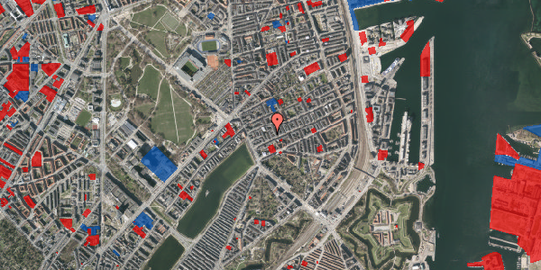Jordforureningskort på Willemoesgade 19, 3. tv, 2100 København Ø