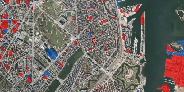Jordforureningskort på Willemoesgade 20, 1. th, 2100 København Ø