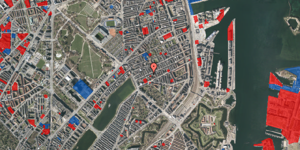 Jordforureningskort på Willemoesgade 24, 3. th, 2100 København Ø