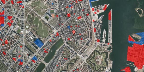 Jordforureningskort på Willemoesgade 28, 3. th, 2100 København Ø