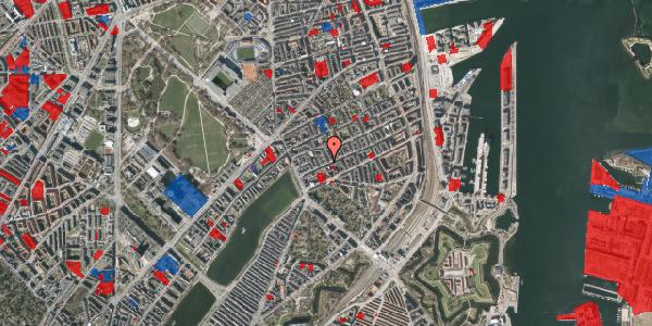 Jordforureningskort på Willemoesgade 29, 3. tv, 2100 København Ø