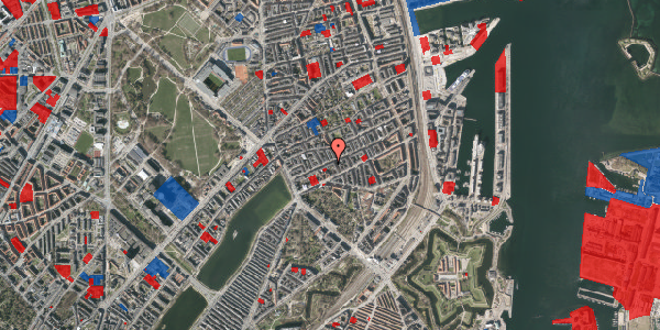 Jordforureningskort på Willemoesgade 30, 2. tv, 2100 København Ø
