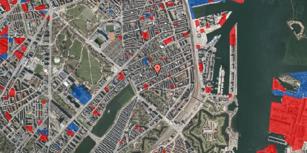 Jordforureningskort på Willemoesgade 35, 1. tv, 2100 København Ø
