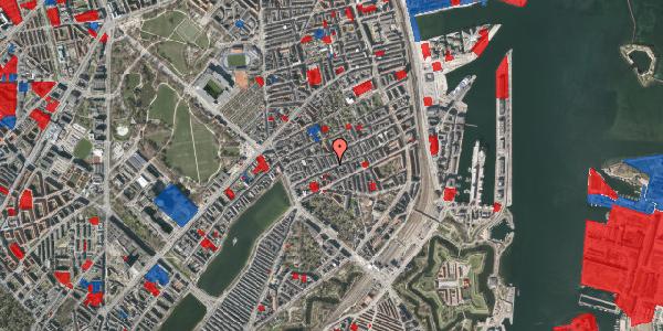 Jordforureningskort på Willemoesgade 35, 3. th, 2100 København Ø
