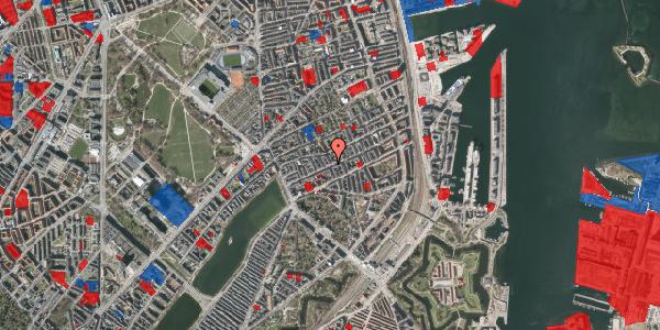 Jordforureningskort på Willemoesgade 37, 2. tv, 2100 København Ø