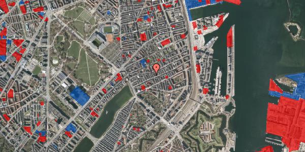 Jordforureningskort på Willemoesgade 39, 3. th, 2100 København Ø