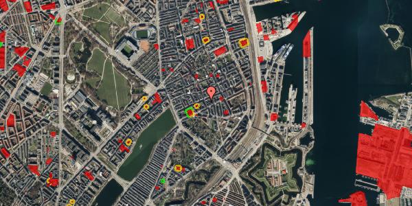 Jordforureningskort på Willemoesgade 40, 2. tv, 2100 København Ø
