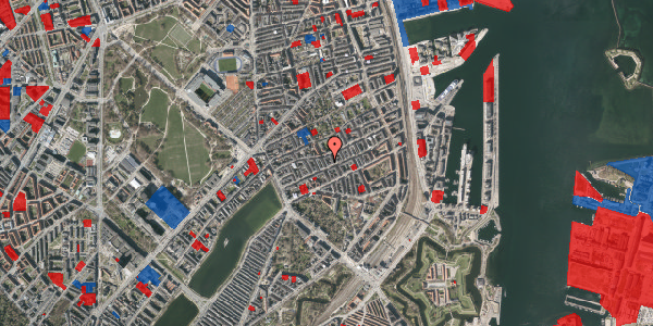 Jordforureningskort på Willemoesgade 41, st. tv, 2100 København Ø