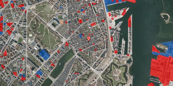 Jordforureningskort på Willemoesgade 41, 2. tv, 2100 København Ø
