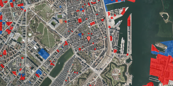 Jordforureningskort på Willemoesgade 43, 1. th, 2100 København Ø