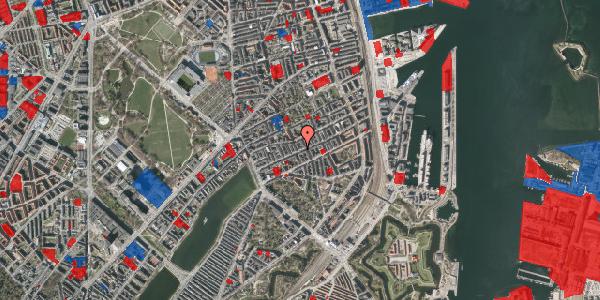 Jordforureningskort på Willemoesgade 43, 1. tv, 2100 København Ø