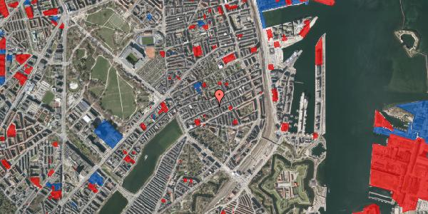 Jordforureningskort på Willemoesgade 43, 2. tv, 2100 København Ø