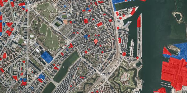 Jordforureningskort på Willemoesgade 44, 3. th, 2100 København Ø