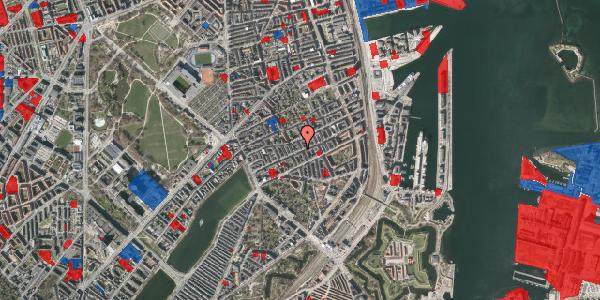 Jordforureningskort på Willemoesgade 47, st. , 2100 København Ø