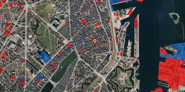 Jordforureningskort på Willemoesgade 48, 2. tv, 2100 København Ø