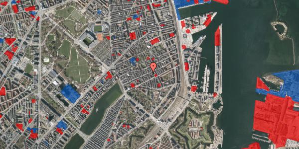 Jordforureningskort på Willemoesgade 50, 1. , 2100 København Ø