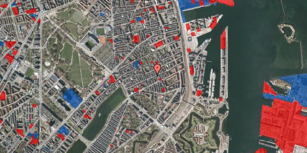 Jordforureningskort på Willemoesgade 51, st. th, 2100 København Ø