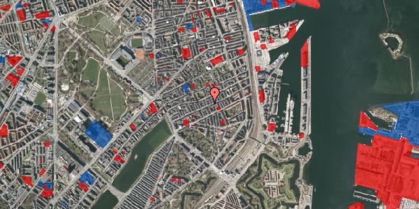 Jordforureningskort på Willemoesgade 51, 1. th, 2100 København Ø