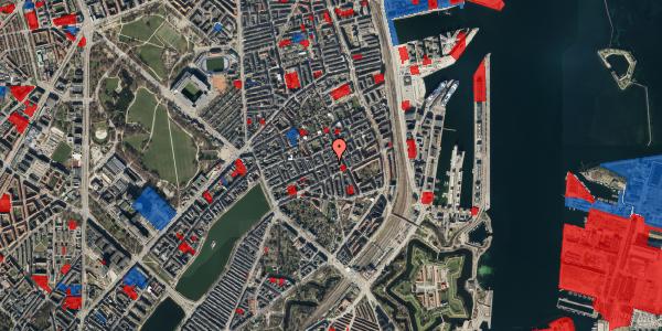 Jordforureningskort på Willemoesgade 52, st. tv, 2100 København Ø