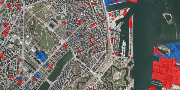 Jordforureningskort på Willemoesgade 52, 1. th, 2100 København Ø