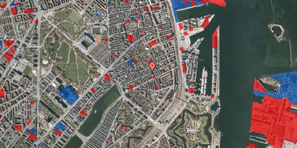 Jordforureningskort på Willemoesgade 53, st. tv, 2100 København Ø