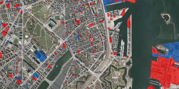 Jordforureningskort på Willemoesgade 54, 1. th, 2100 København Ø
