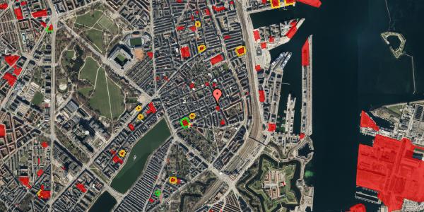 Jordforureningskort på Willemoesgade 54, 5. th, 2100 København Ø