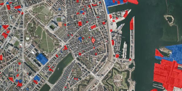 Jordforureningskort på Willemoesgade 55, 4. tv, 2100 København Ø