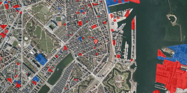 Jordforureningskort på Willemoesgade 58B, 2100 København Ø