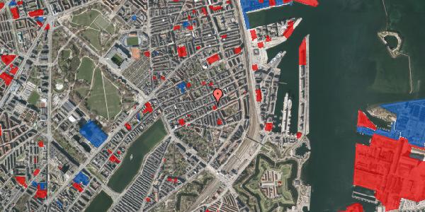 Jordforureningskort på Willemoesgade 58C, 2. th, 2100 København Ø