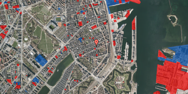 Jordforureningskort på Willemoesgade 58, 3. th, 2100 København Ø