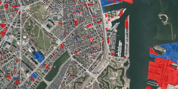 Jordforureningskort på Willemoesgade 58, 5. th, 2100 København Ø