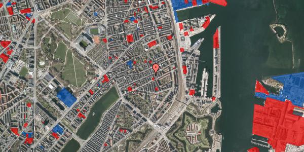 Jordforureningskort på Willemoesgade 58, 5. tv, 2100 København Ø